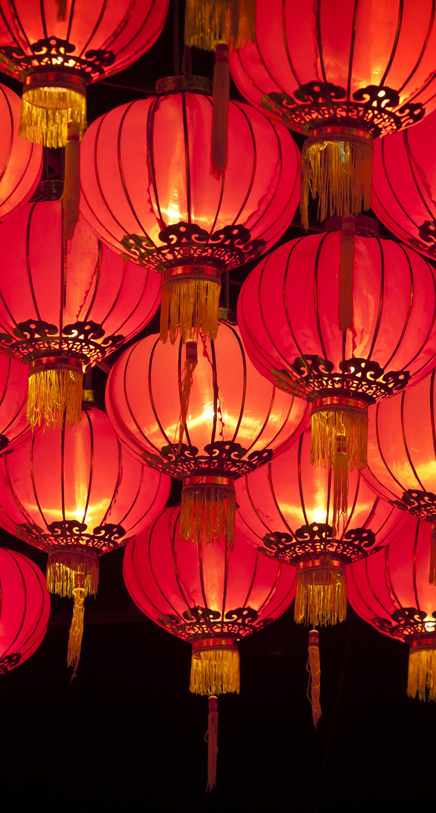 chandelier, mid autumn festival