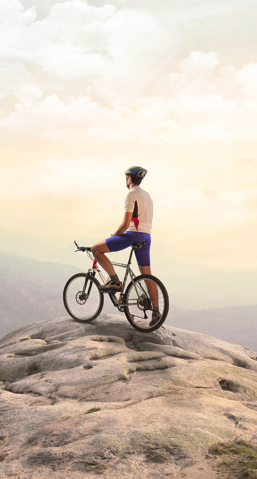 biker, mountain, graphic, wheel, man, freedom, people, one, outdoors, recreation, action, sport, leisure, adventure, cyclist