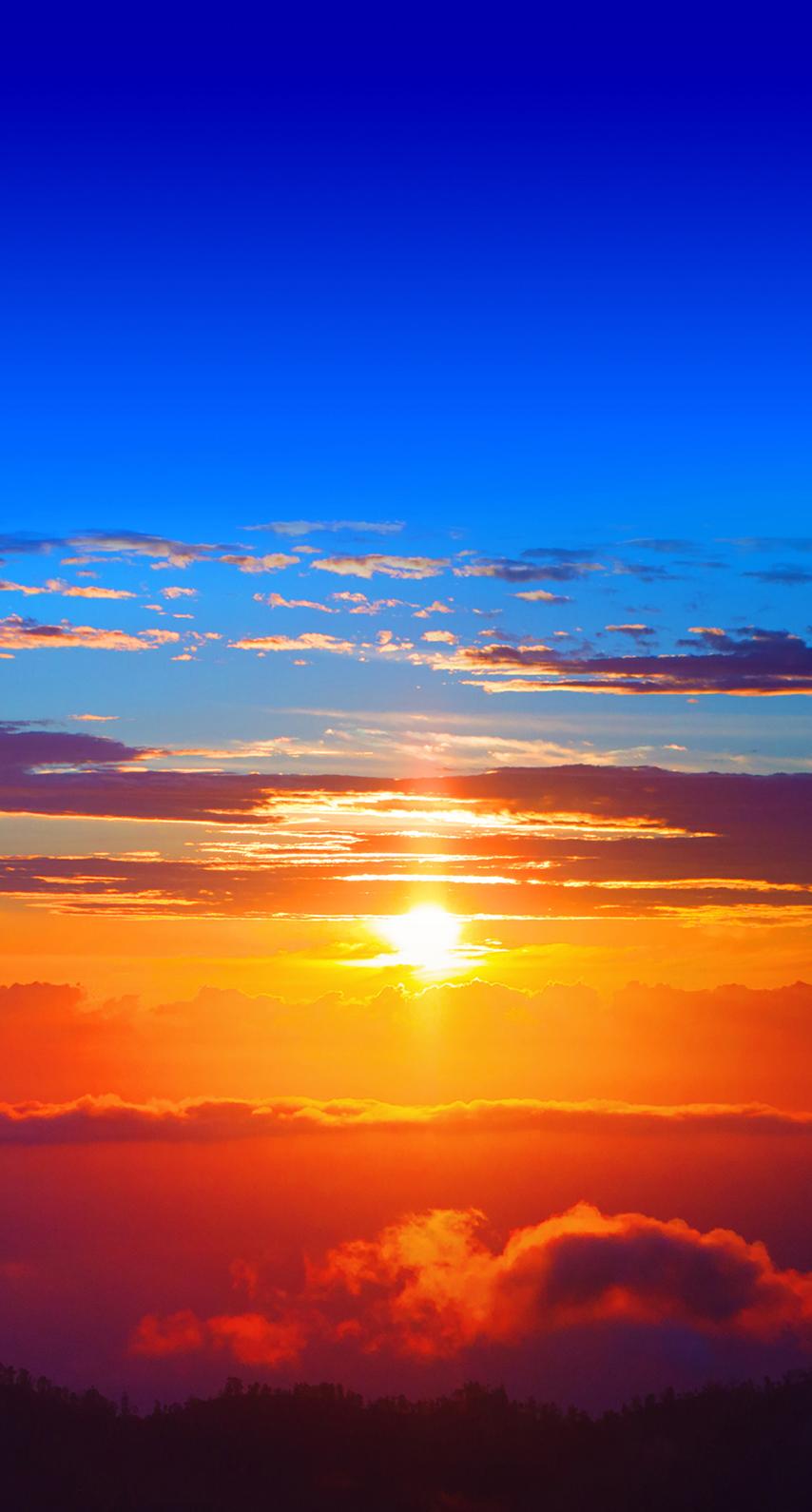 sunset, light
