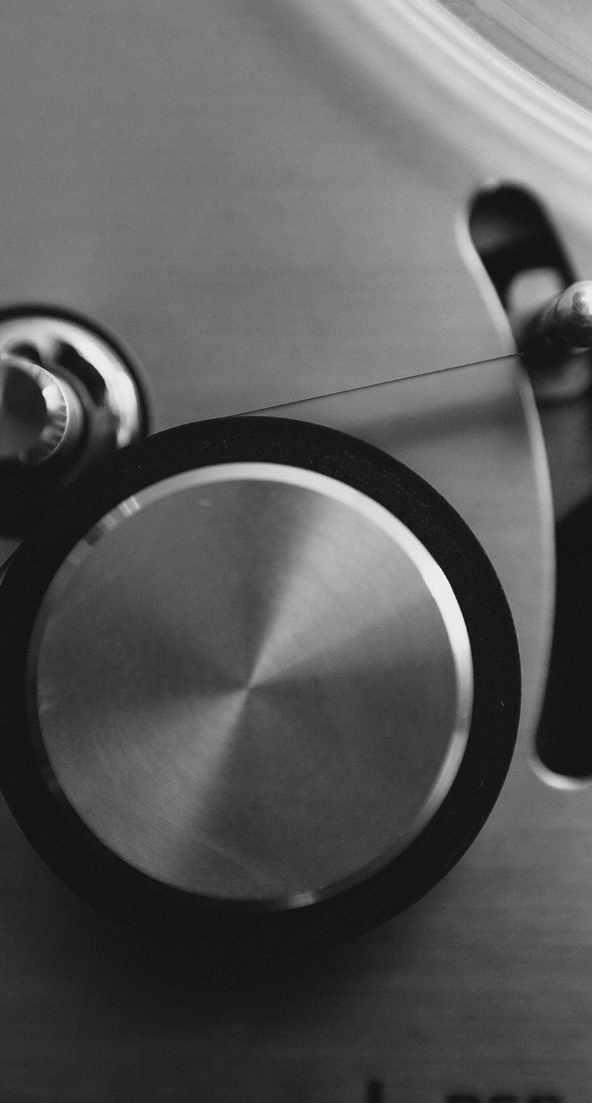 monochrome, sound, bass, equipment, music, still life, shadow, black and white, studio, lens, instrument, zoom, handle, audio, font, product design, still life photography, close up, angle, monochrome photography, audio equipment
