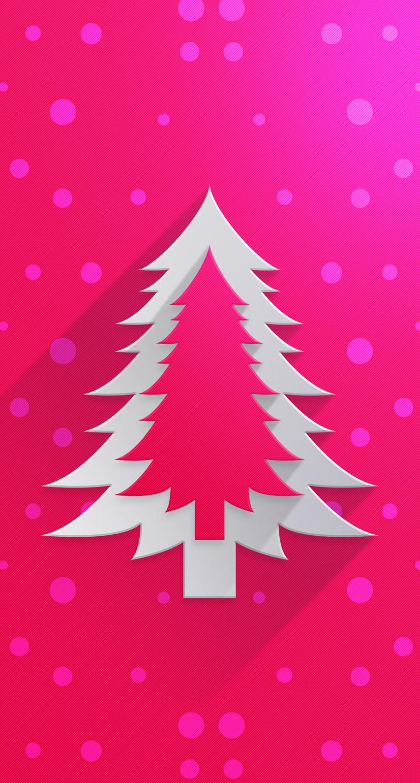pink, christmas
