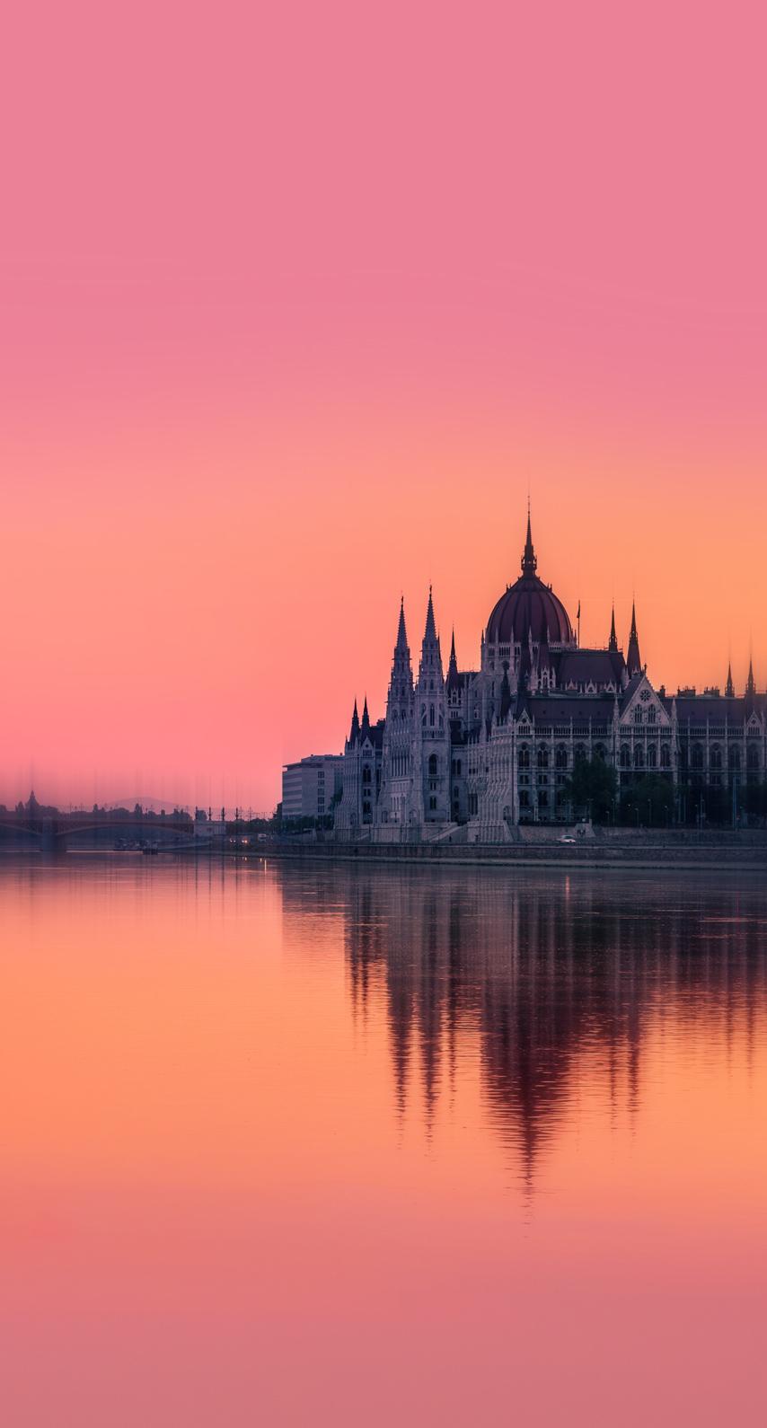 castle, evening