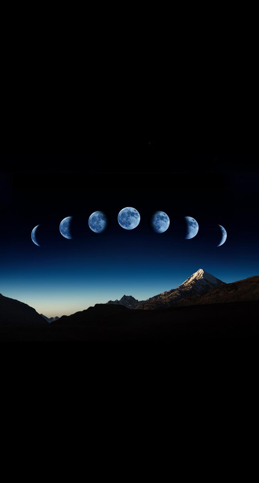 sky, dark, moon, sunset, light, bright