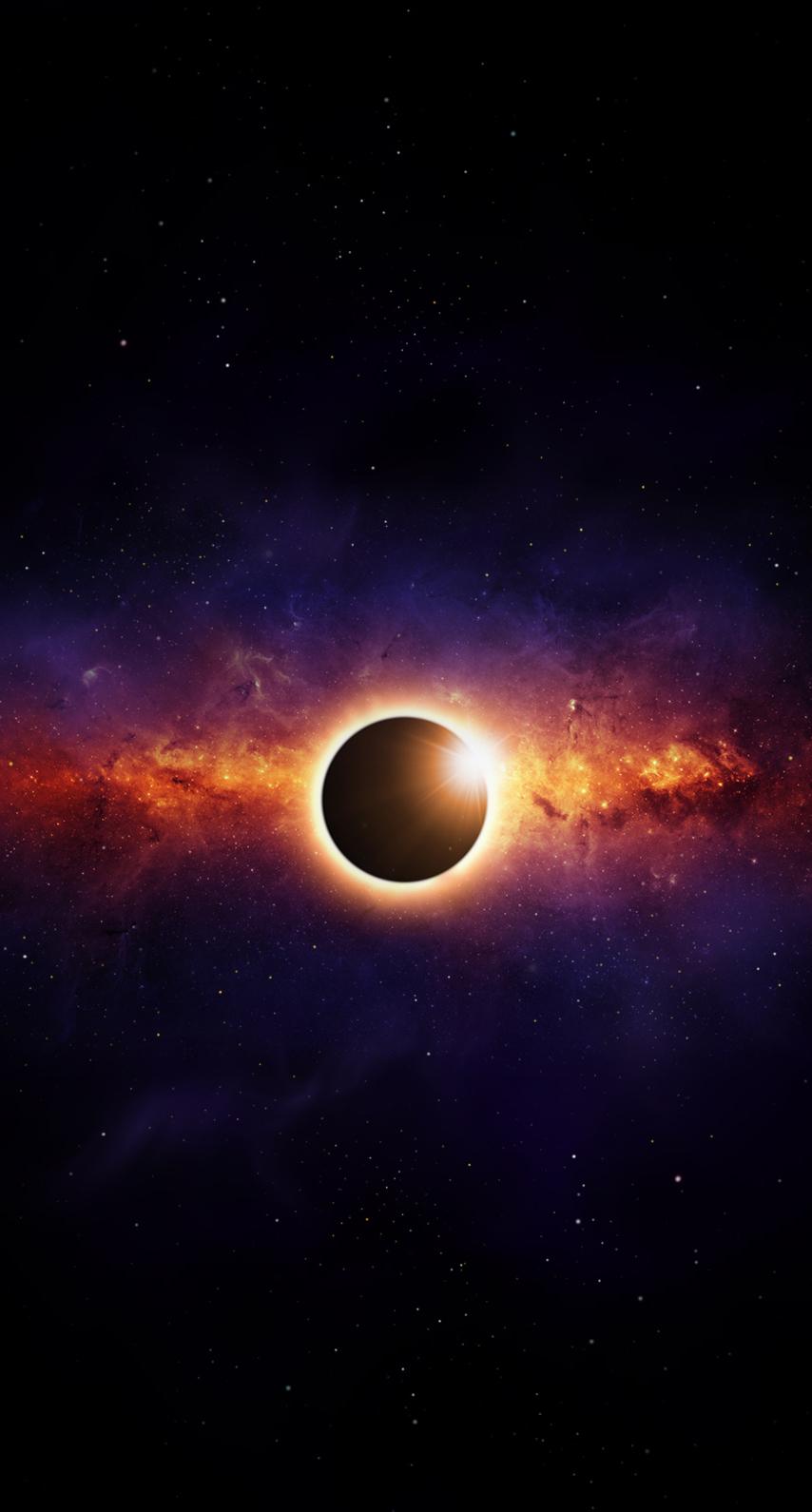 telescope, eclipse, solar system