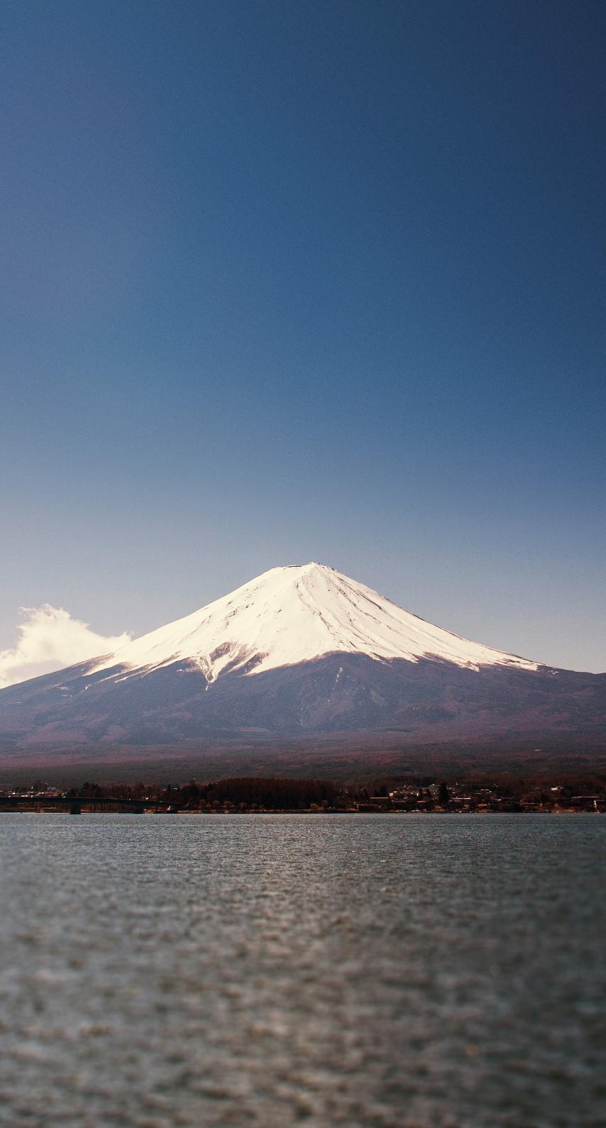 volcano, mountain peak