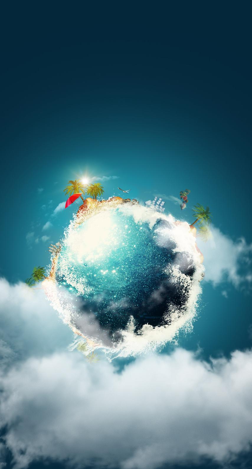 ball, sun, insubstantial, desktop, no person, sphere, fair weather, cloud, color, weather