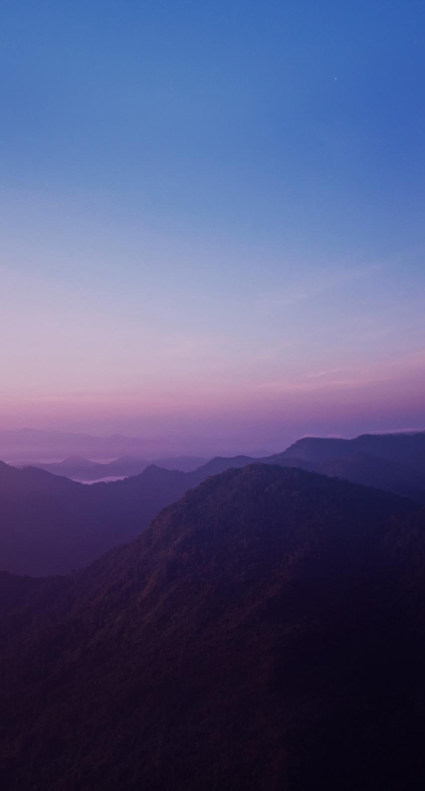 sun, no person, dawn, dusk, outdoors, daylight, scenic, mist, hike