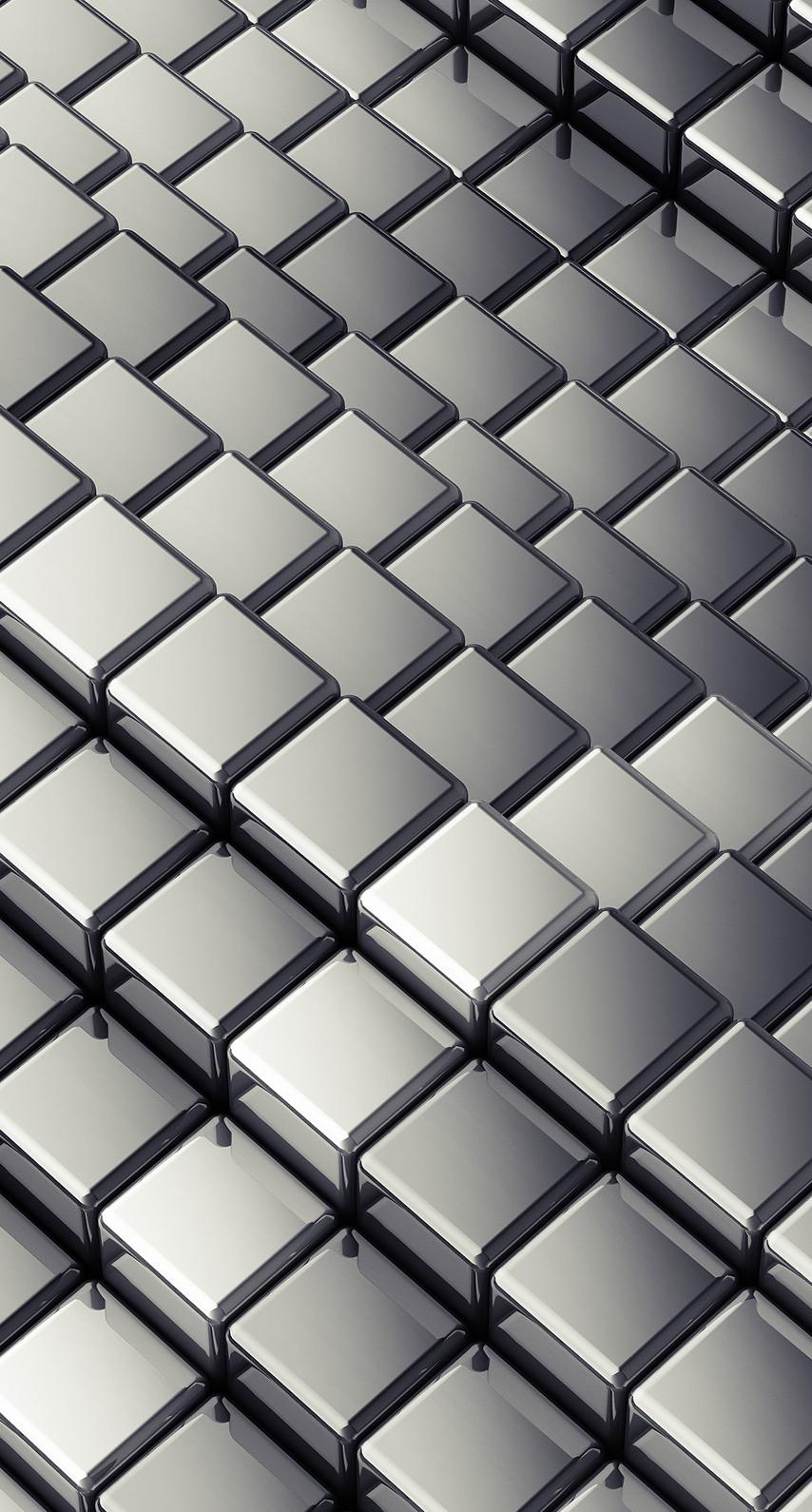 design, wallpaper, desktop, shape, net, square, aluminum, iron, steel, chrome, stainless steel