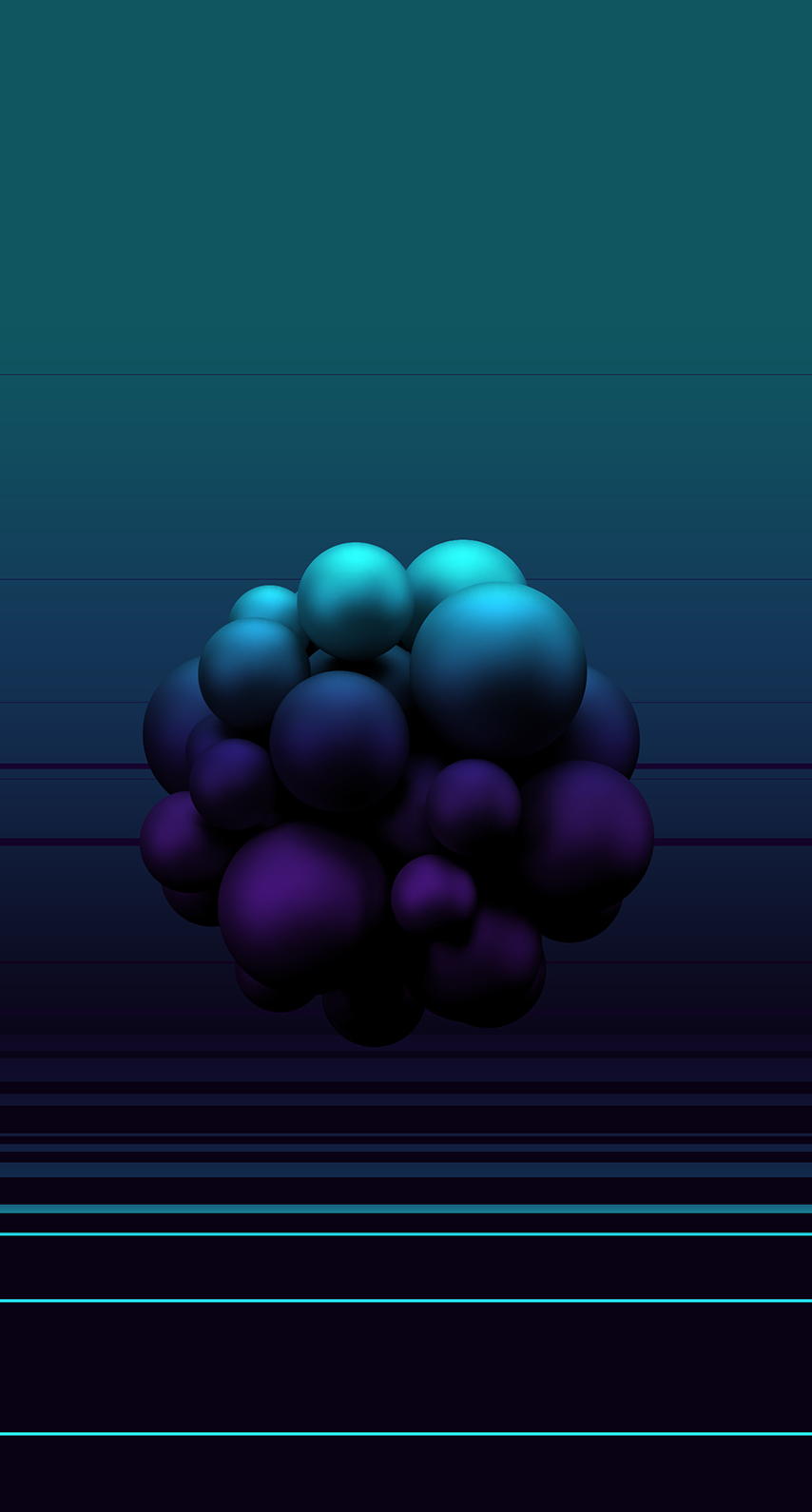 sphere, shining