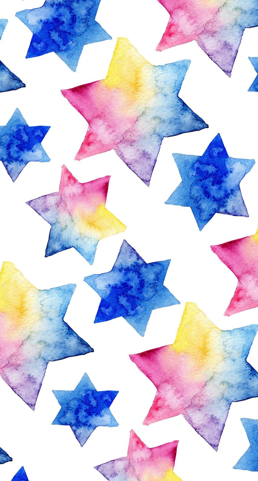 paper, star, design, wallpaper, desktop, illustration, shape, shining, decoration, color, motley