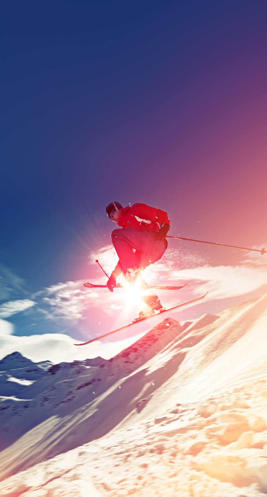skiing, fun