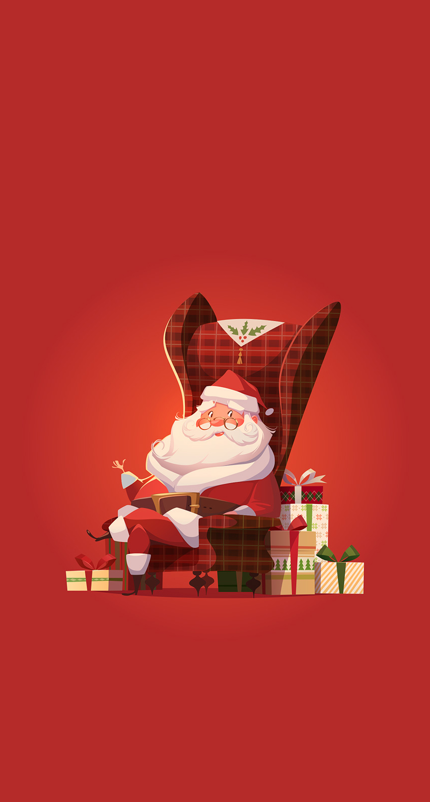 red, christmas