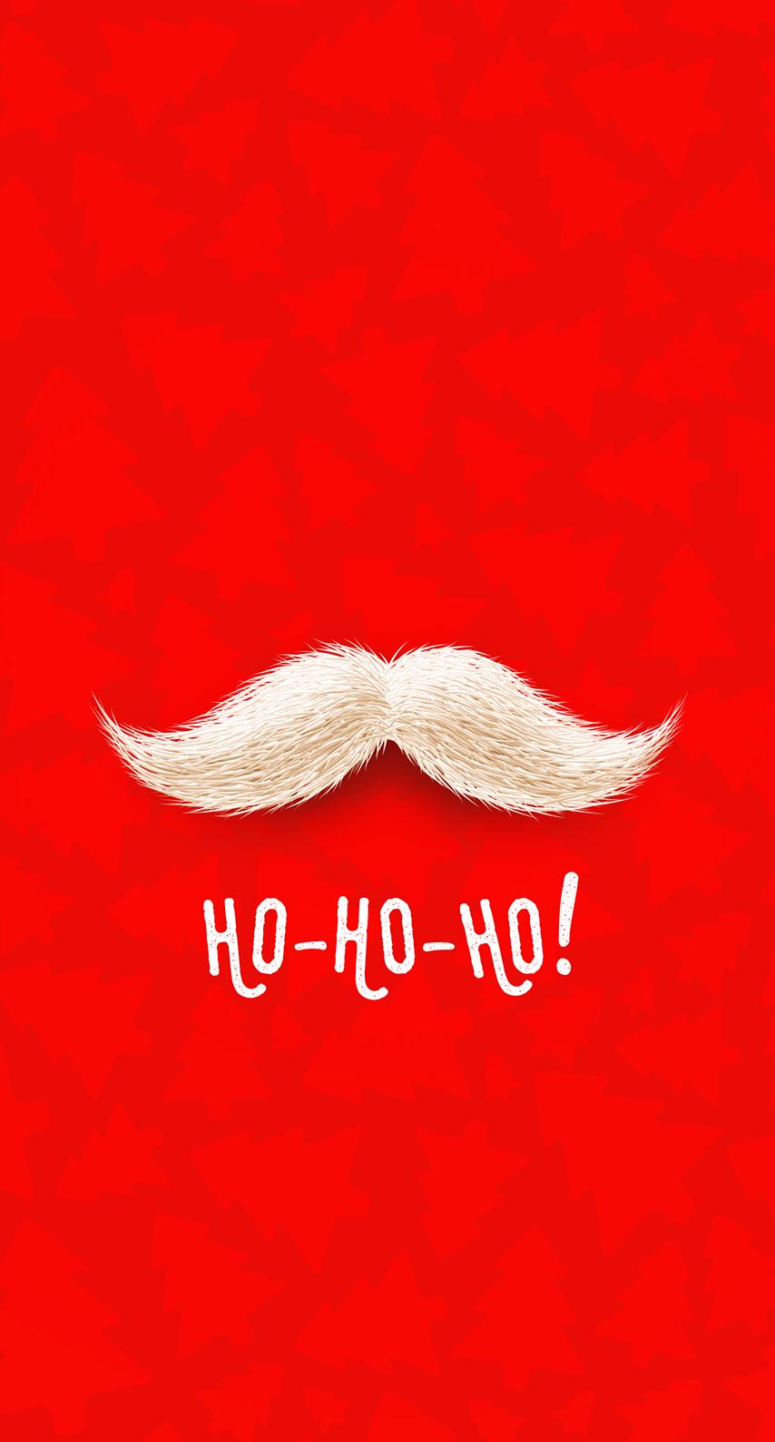 christmas, moustache