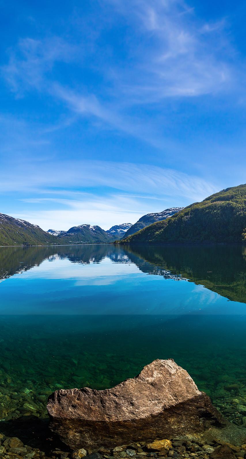 island, lake