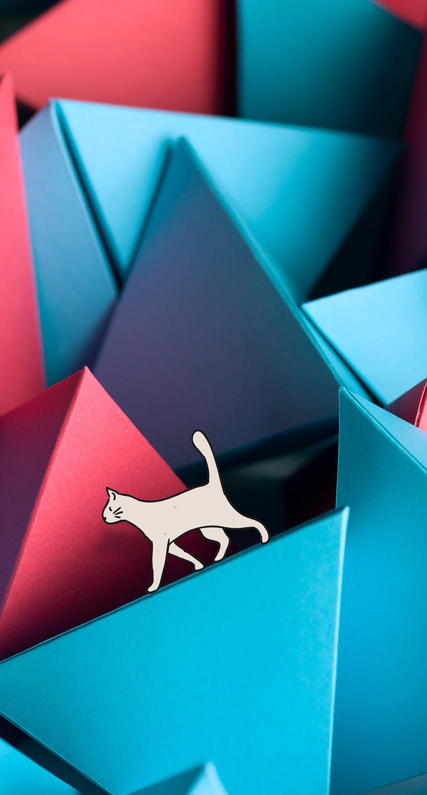 origami, computer wallpaper