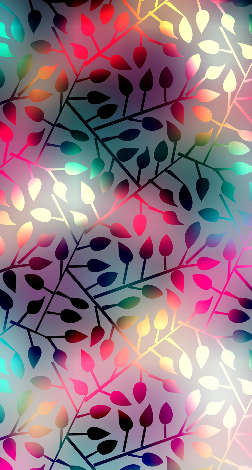 multicolor, abstract, pattern, branch