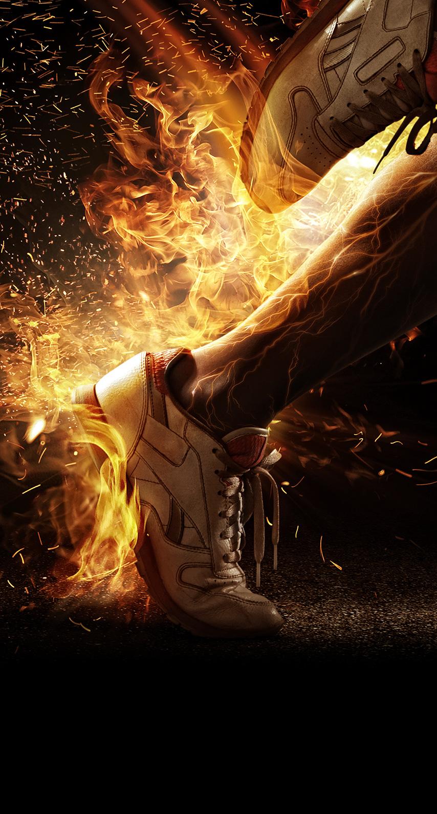 furnace, spark