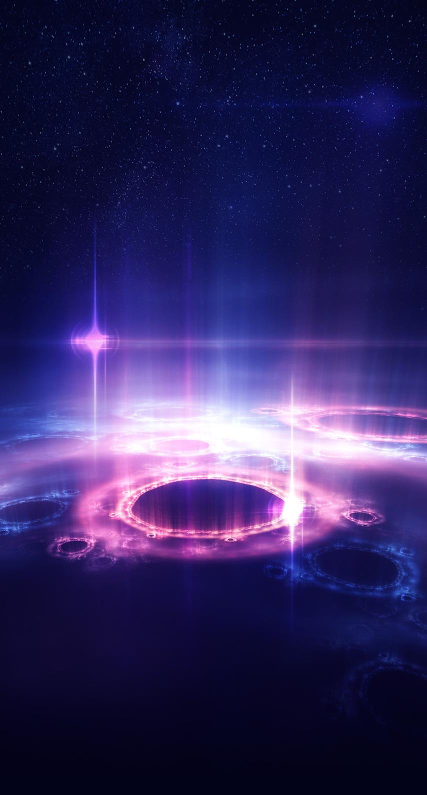 glow, violet, purple, dark