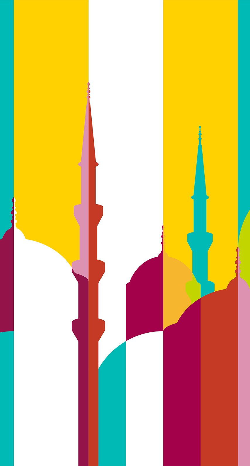 sunset, bright, art, giraffe, ramadan, flag, animal