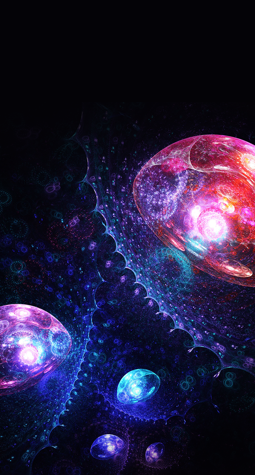 design, insubstantial, wallpaper, desktop, fractal, luminescence, round out, science, astronomy, cosmos