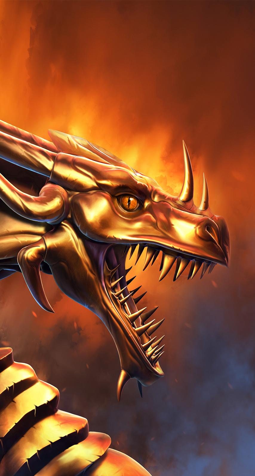 dragon, fur