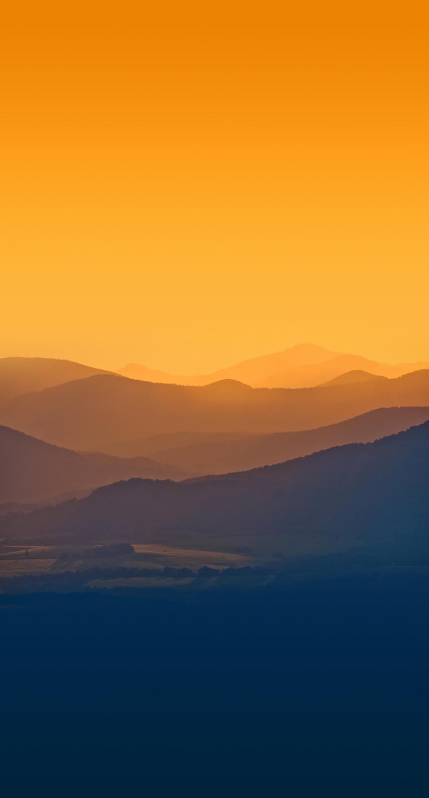 sunset, light, galaxy, bright, fantasy, hills, art, mountain, fog, evening, sun, no person, dawn, dusk