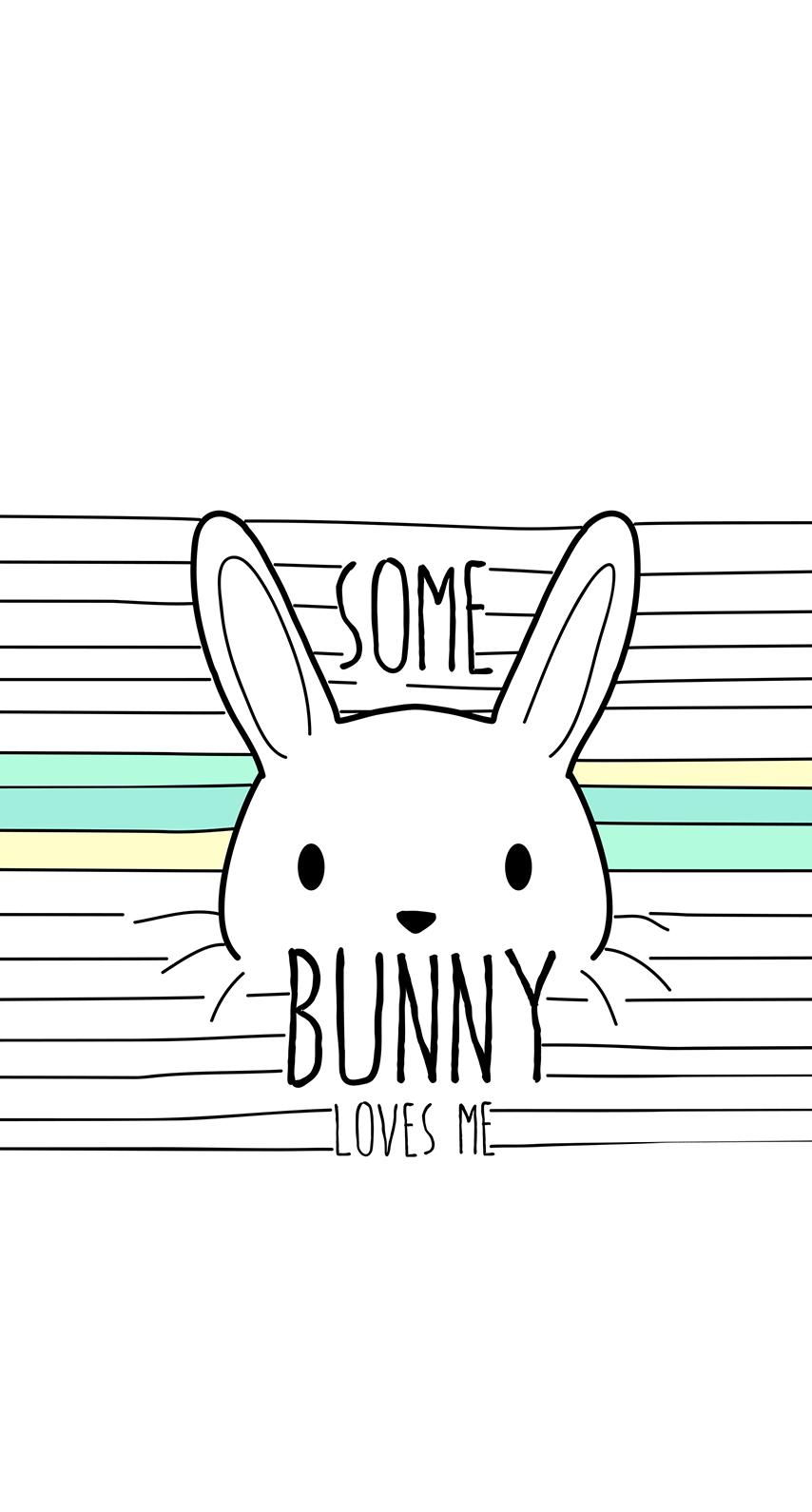 bunny, galaxy
