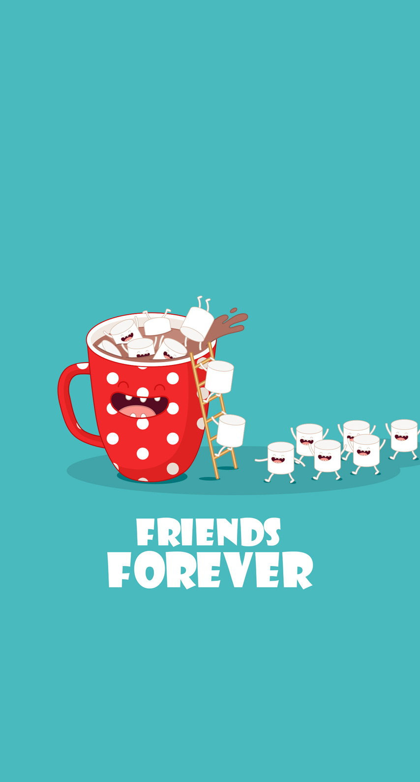 coffee, friends