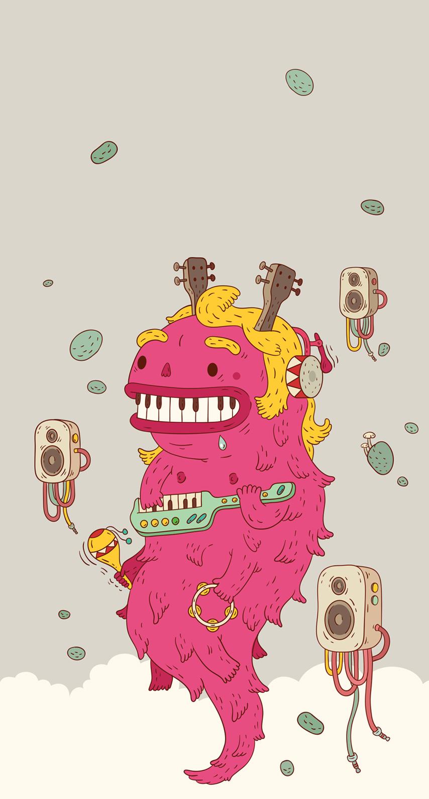 monster, music