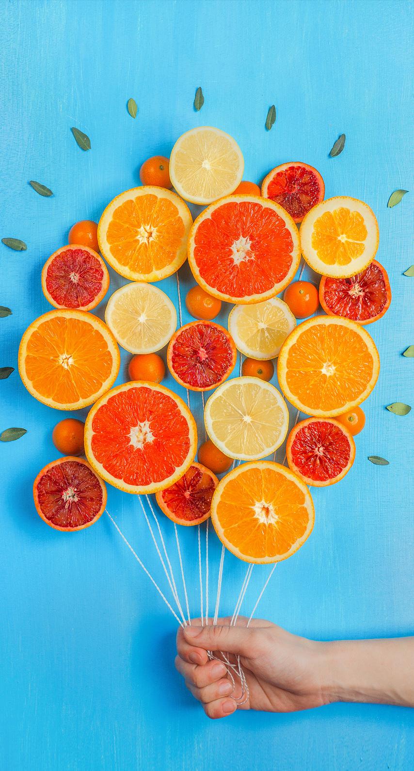 summer, grapefruit