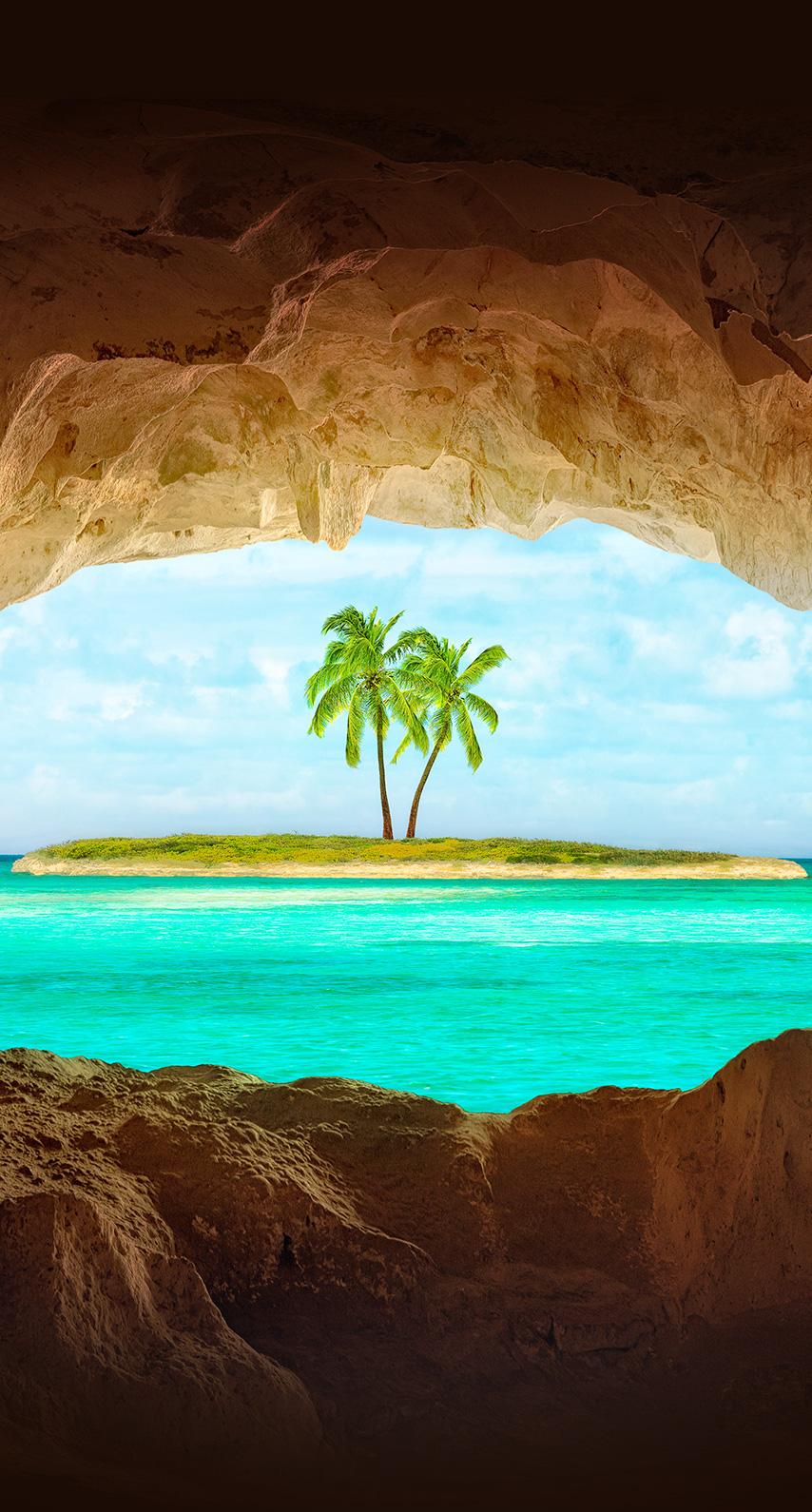 island, tropical