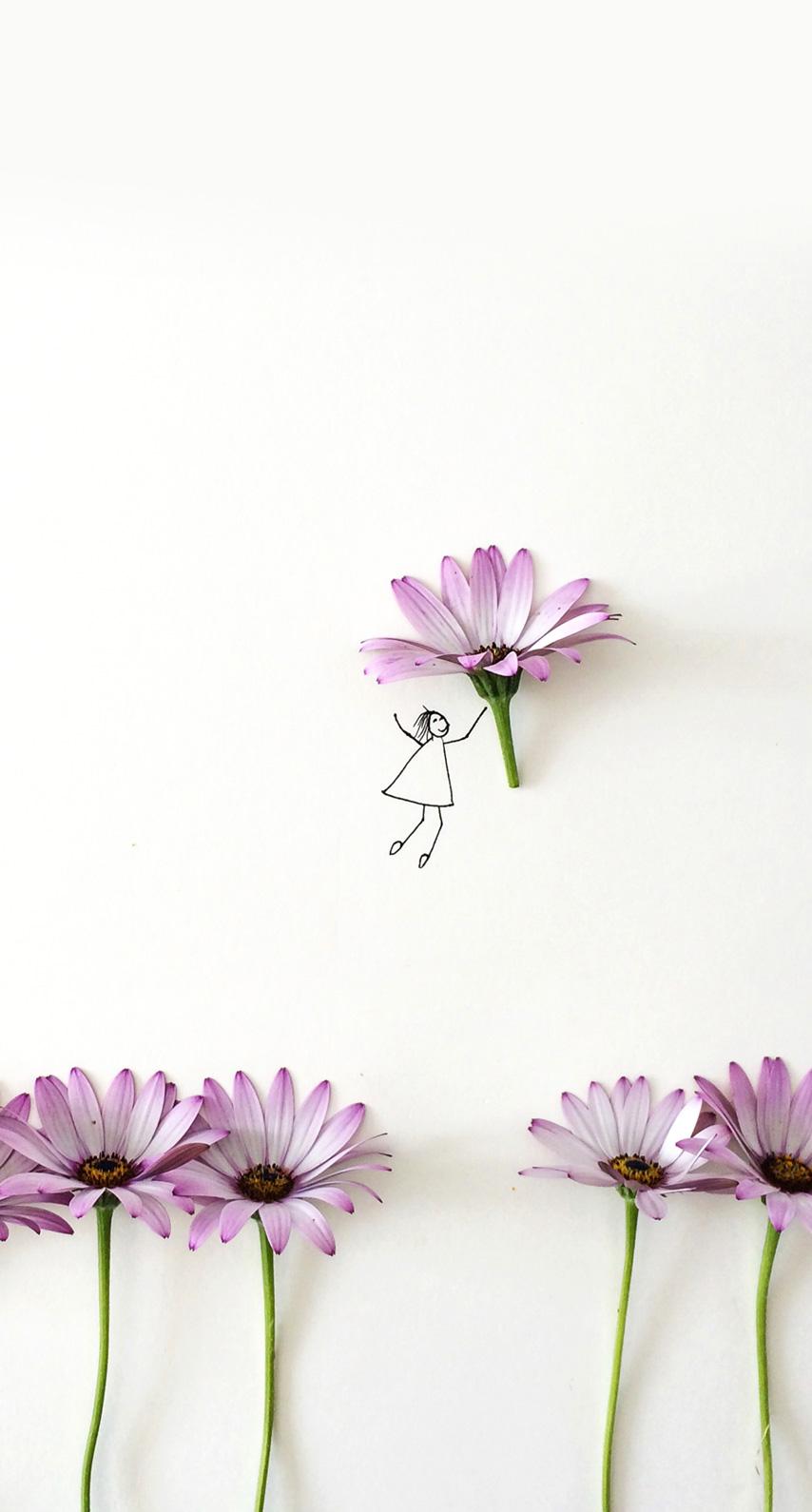 flowers, fairy