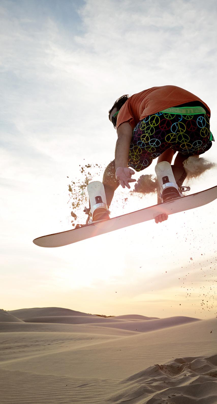 desert, jump