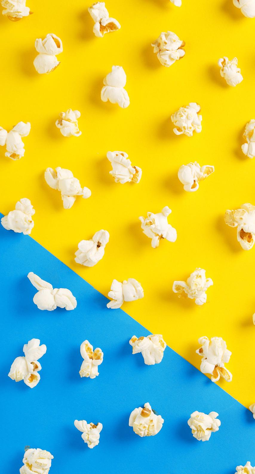 dual, popcorn