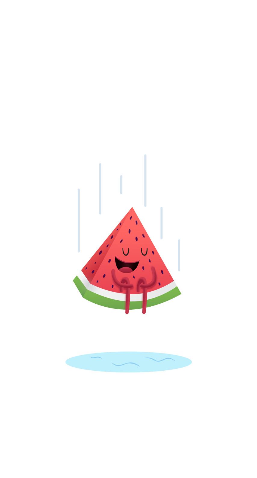 funny, watermelon