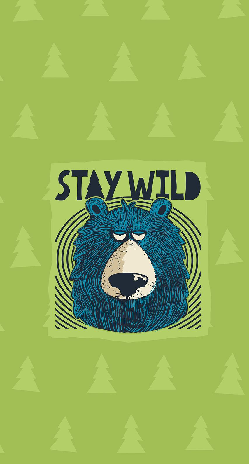 wild, bear