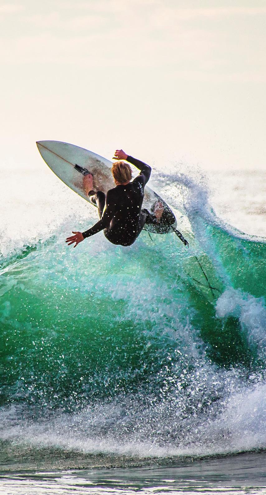 waves, surfer