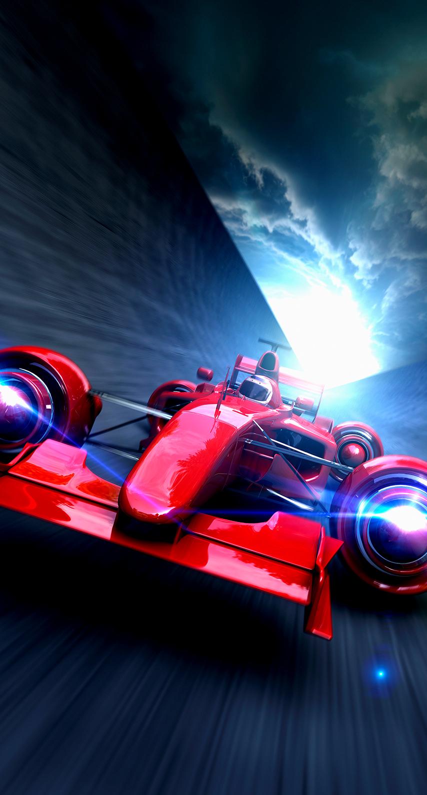 race, car