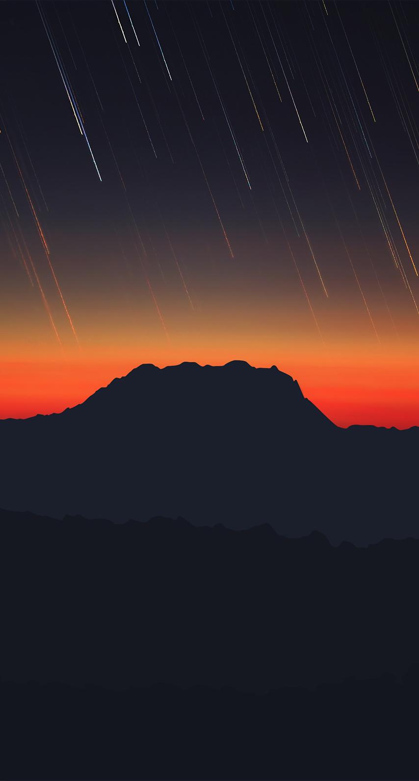 night, mountain