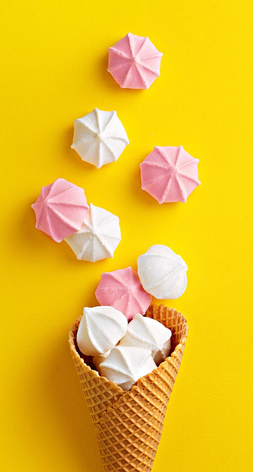 art paper, origami paper, ice cream cone