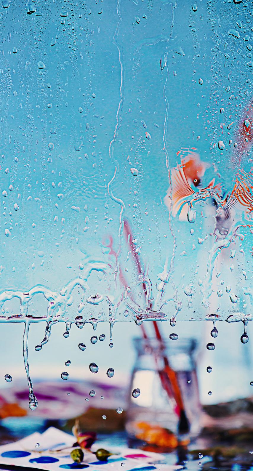 wet, ripple