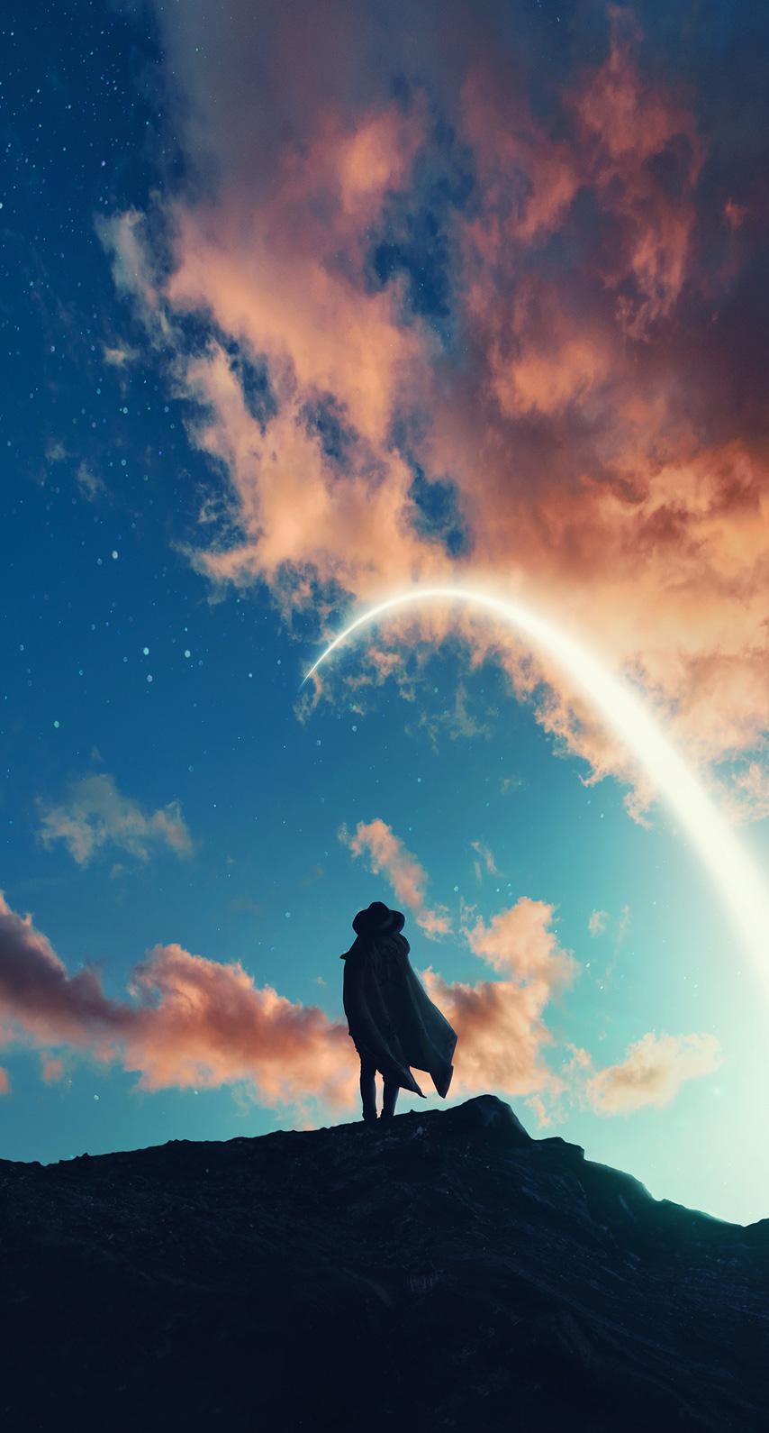 horizon, climber