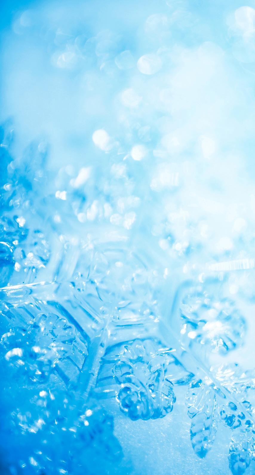 winter, water