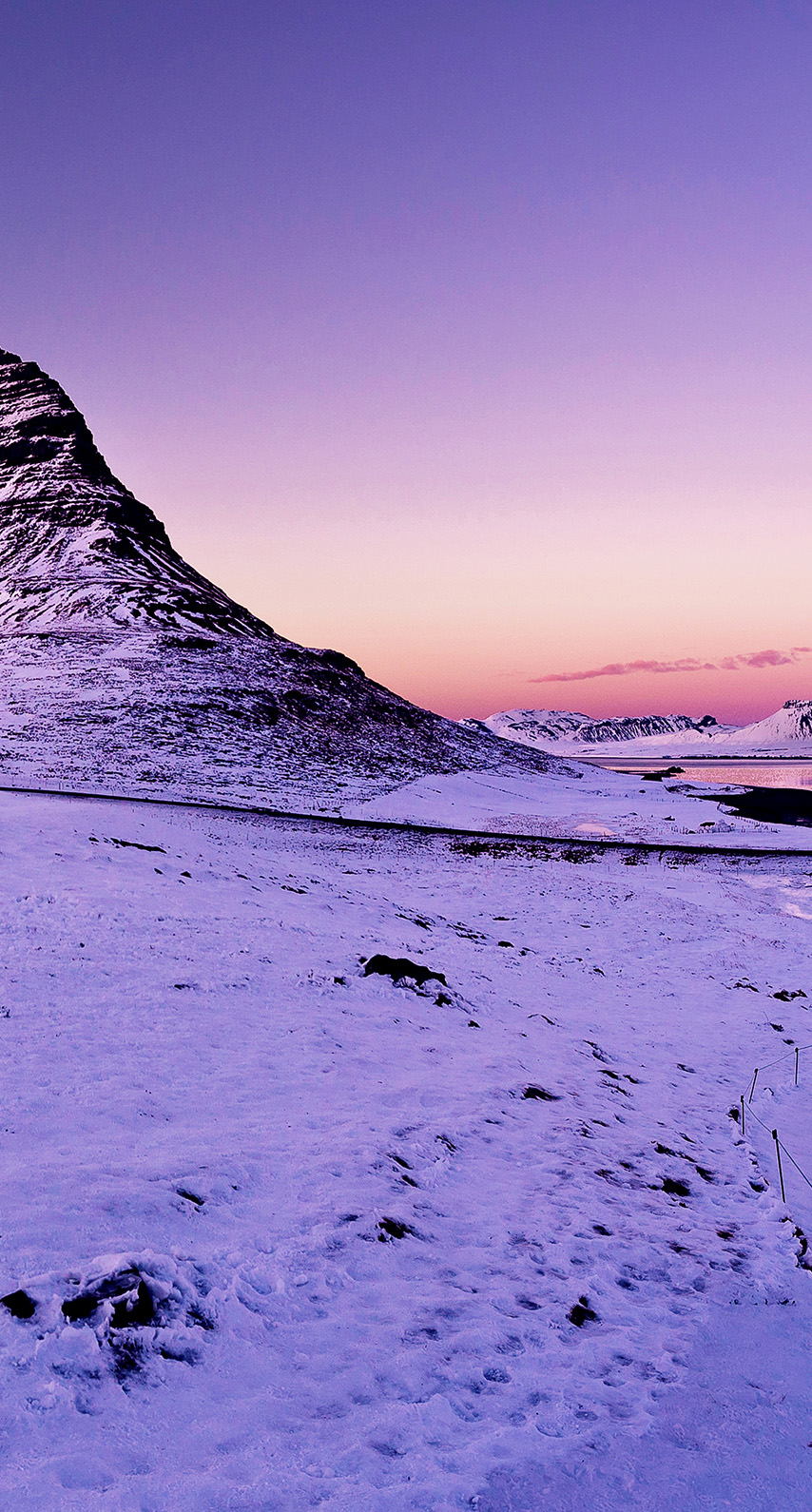 lake, snow, sunset, sunrise, rock, ice, mountain, morning, arctic, evening, no person, dawn