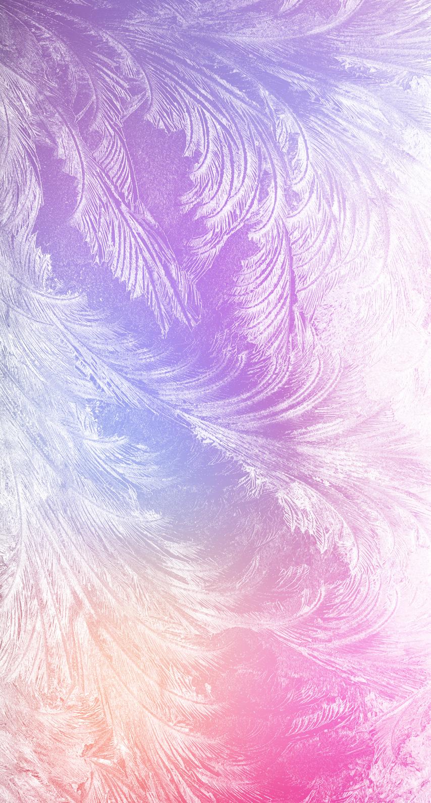 pattern, frosty