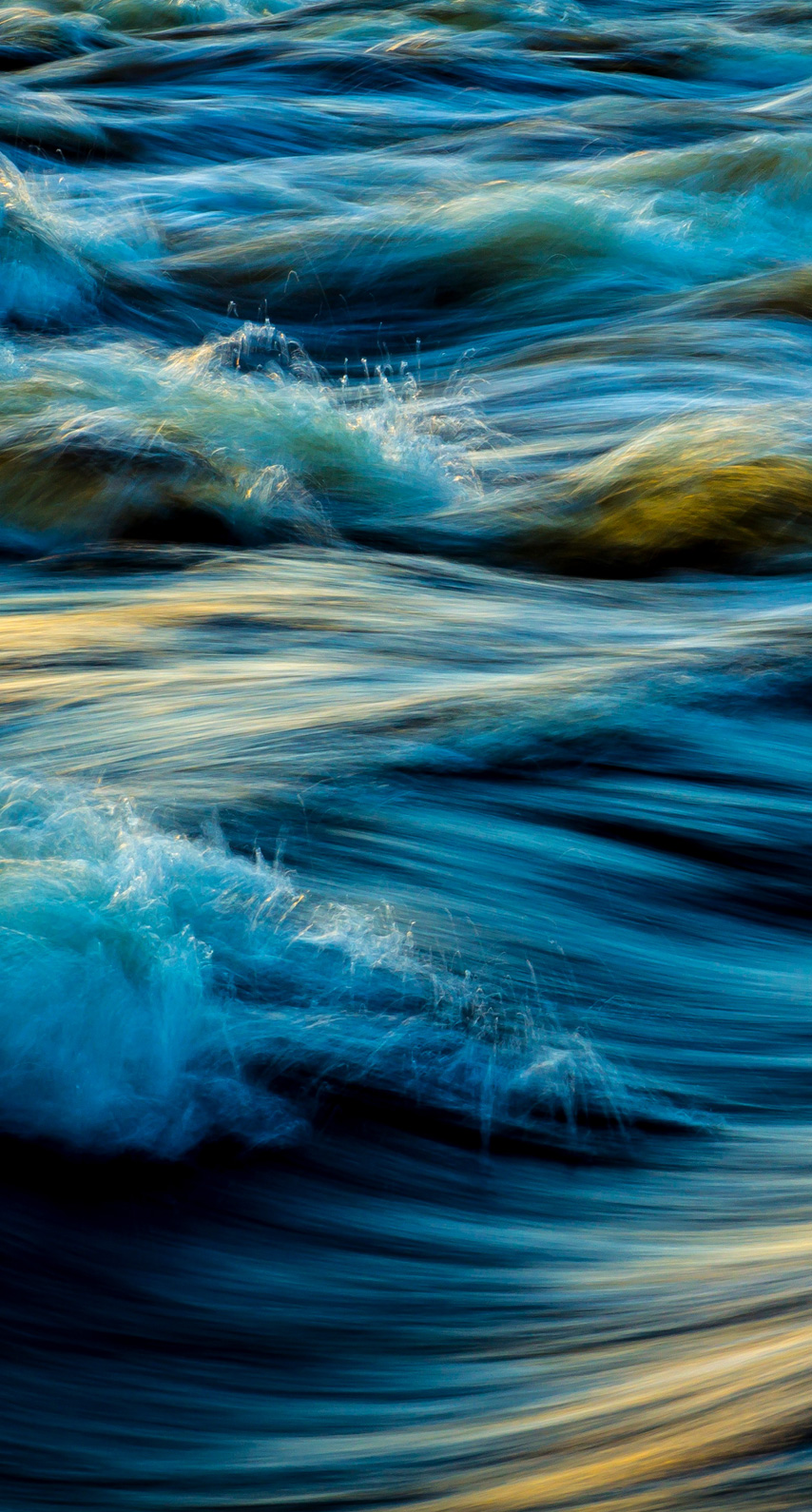 abstract, river