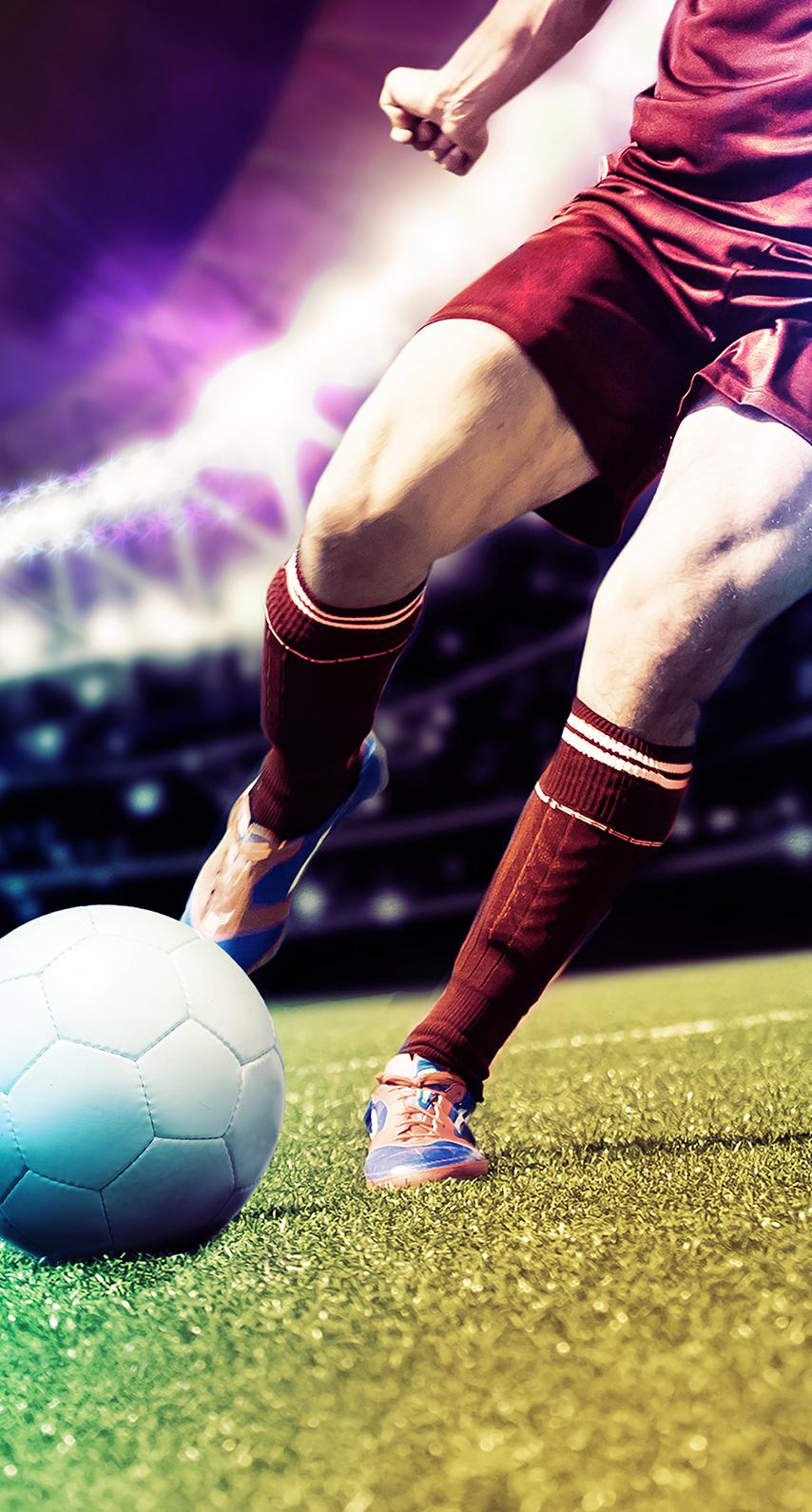 shooting, soccer player
