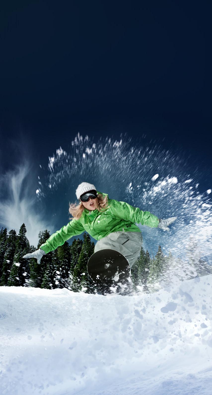 ski resort, ski slope
