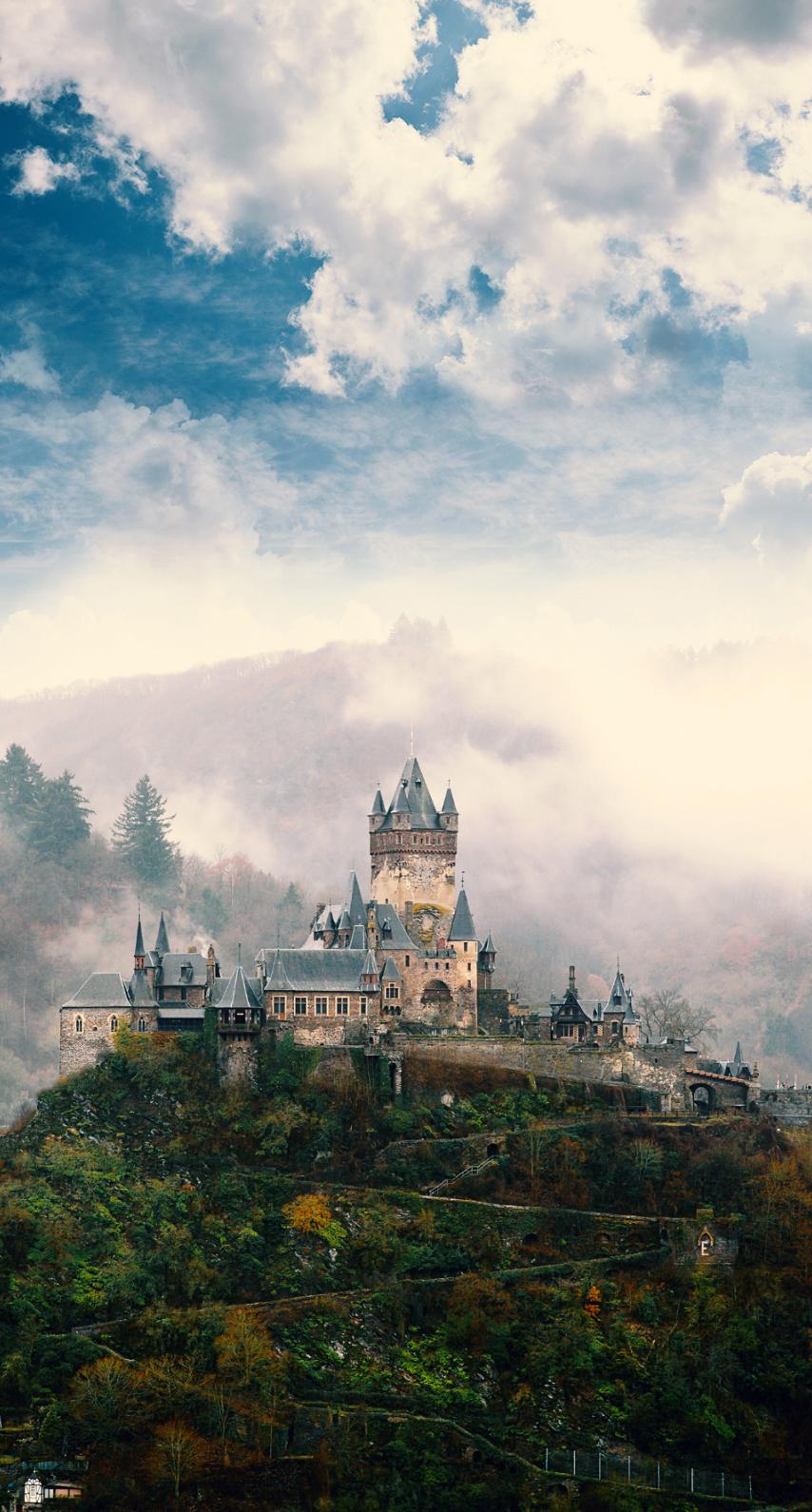 castle, easter