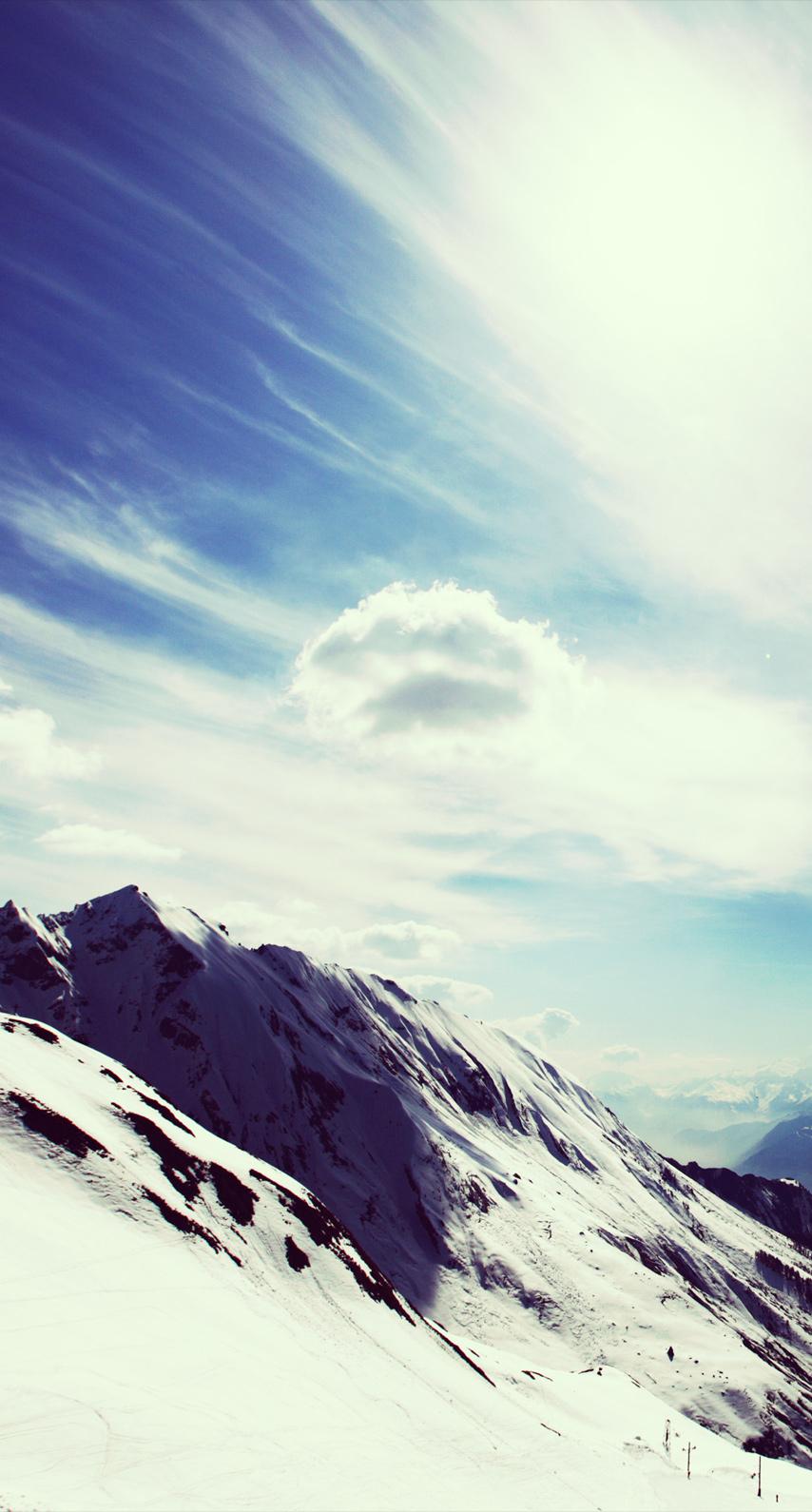 ice, mountain